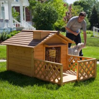 Merry Products Mansion Dog House   Dog Houses