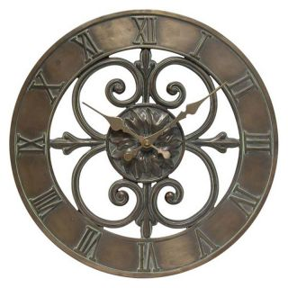 Infinity Instruments The Blazon 14.25 Inch Wall Clock   Wall Clocks
