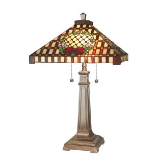 Dale Tiffany Mission Rose Table Lamp   Tiffany Table Lamps