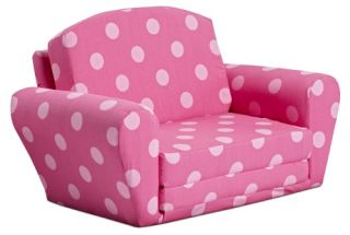 Kidz World Oxygen Pink Sofa Sleeper   Specialty Chairs