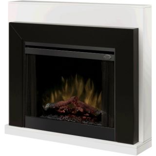 Dimplex White Ebony Electric Fireplace   Electric Fireplaces