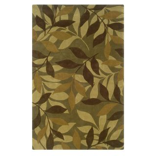 Linon Trio Area Rug   Green / Brown   Area Rugs