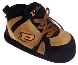 Comfy Feet NCAA Sneaker Boot Slippers   Purdue Boilermakers   Mens Slippers