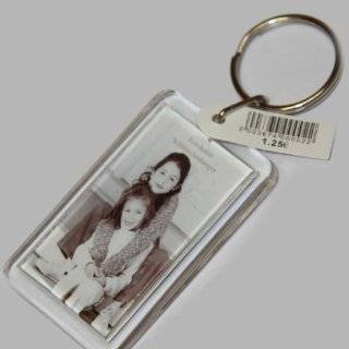Foto Schl�sselanh�nger aus Acryl, Bildformat 2,8 x 4,8 cm,geeignet f�r zB Passbilder, Werbung, Auto, Hotel, Pension: Spielzeug
