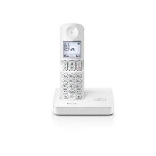 Philips D4001W/38 Schnurloses Telefon DECT wei� Elektronik