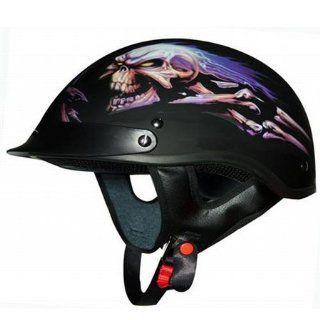 Braincap Motorrad Biker Chopper Custom Bike Helm XL D�mon: Motorrad