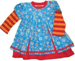 Sigikid Mini M�dchen Winterkleid, 126114, mehrfarbig, Gr. 68: Bekleidung