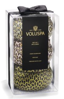 Voluspa Two Wick Tin Candle Trio ($48 Value)