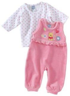 PTTMANN   Disney Winnie Pooh 70055 Baby Strampler, Gr. 62, pink Bekleidung