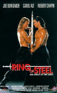 Ring of Steel [VHS]: Robert Chapin, Joe Don Baker, Gary Kasper, Carol Alt, Darlene Vogel, David Frost, Leonhard Shapiro, David Speaker, Alan M. Salomon: VHS