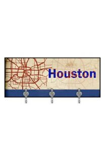 Green Leaf Art Houston  Multi Hook Wall Mount Rack