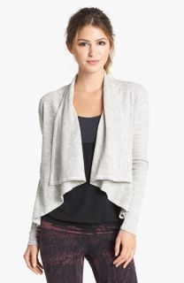 Omgirl Ideal Space Dye Thermal Open Front Cardigan