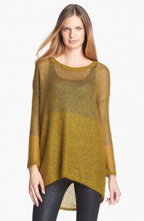 Eileen Fisher Mohair Blend Tunic Sweater (Regular & Petite)