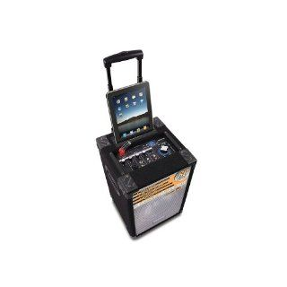 mobile PA Box DJ Tech uCube 85 MKII iPad iPhone iPod: Musikinstrumente