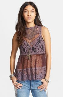 Robbi & Nikki Lace Trim Top
