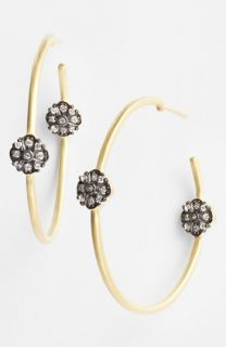 Freida Rothman Metropolitan Station Inside Out Hoop Earrings