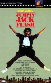 Jumpin' Jack Flash [VHS]: Whoopi Goldberg, Stephen Collins, John Wood, Carol Kane, Annie Potts, Peter Michael Goetz, Jonathan Pryce, James Belushi, Roscoe Lee Browne, Garry Marshall, Jeroen Krabb�, Jon Lovitz, Tracey Ullmann, Tracy Reiner, Chino Fats W