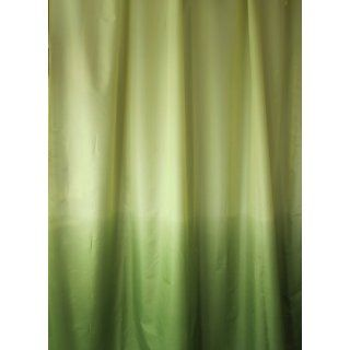 BONO DUSCHVORHANG MAGIC GR�N 180cm breit x 200cm lang, Textil shower curtain ohne Ringe Küche & Haushalt