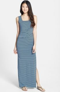 Nicole Miller Tidal Wave Stripe Maxi Dress