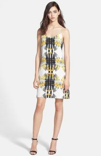 Rebecca Minkoff Leigh Print Silk Slipdress