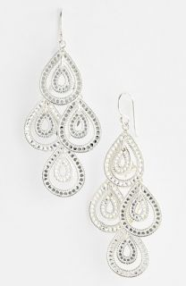 Anna Beck Sulawesi Double Teardrop Chandelier Earrings