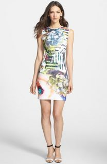Clover Canyon Floral Maze Neoprene Dress