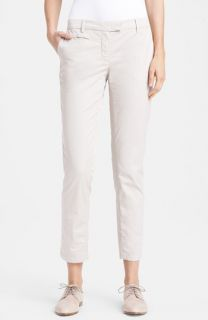 Fabiana Filippi Slim Crop Chino Pants
