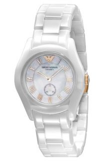 Emporio Armani Small Ceramic & Rose Gold Watch