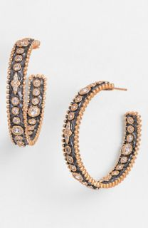 Freida Rothman Inside Out Hoop Earrings