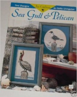 Sea Gull & Pelican Counted Cross Stitch (Just Cross Stitch, #184): Cathy Livingston: Books