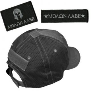 Operator Cap Bundle   2 matching MOLON LABE patches & Hat (ATACS) at  Men�s Clothing store