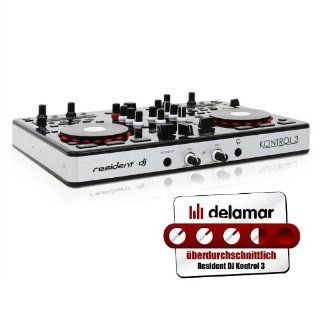 DJ Tech I Mix Reload MKII USB DJ Mixer/Controller mit Soundkarte (USB Kabel, Stereo Cinch Kabel und Deckadance Software): Musikinstrumente