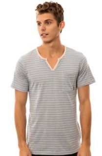 191 Unlimited Men's Rocket Moroccan Neck Tee: Clothing