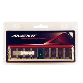 AVEXIR AVD1U04000301G 1B Budget 1GB 1024MB 184 pin pc3200 DDR 400mhz DIMM 3 3 3 8 desktop memory module: Computers & Accessories
