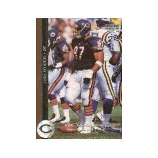 1996 Upper Deck #186 Chris Zorich: Sports Collectibles
