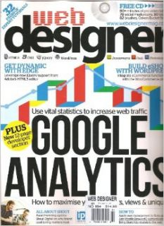 Web Designer Magazine (Google Analytics, Number 194 2012): Various: Books