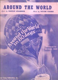 Sheet Music Around The World Harold Adamson 196: Everything Else