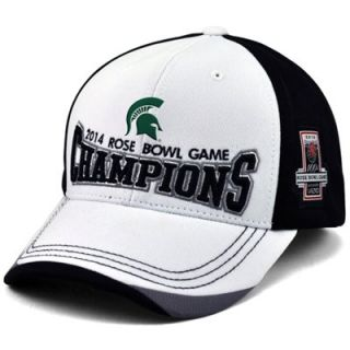 Michigan State Spartans 2014 Rose Bowl Champs Adjustable Hat   White