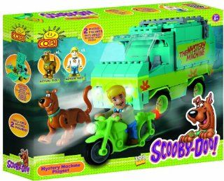 Scooby DOO /23210/ Mystery Machine SET 198 Building Bricks By Cobi: Toys & Games