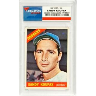 Sandy Koufax Los Angeles Dodgers 1966 Topps #100 Card
