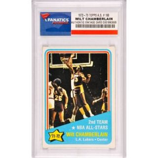 Wilt Chamberlain Los Angeles Lakers 1972 1973 Topps All Star #168 Card