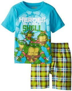 Disney Cars Boys 2 7 Plaid Short Set: Clothing
