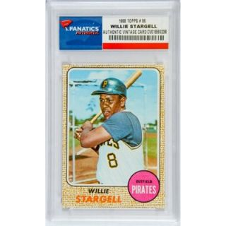 Willie Stargell Pittsburgh Pirates 1968 Topps #86 Card