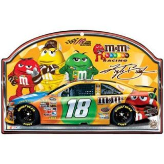Kyle Busch 11 x 17 Wood Sign