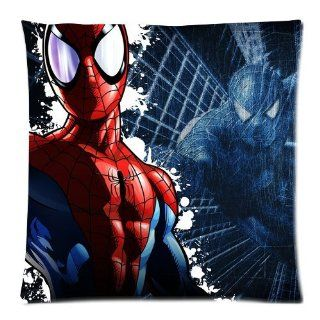 Fashionable The Amazing Spider Man Pillow Cases  Two Sides zippered Square Pillowcase Pillow Cover Size 18x18 inch.   Throw Pillow Covers