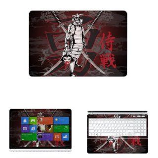 "Decalrus   Decal Skin Sticker for Sony VAIO Fit Series with 15.6"" Touchscreen laptop (NOTES: Compare your laptop to IDENTIFY image on this listing for correct model) case cover wrap SnyVaioFIT 195: Electronics"