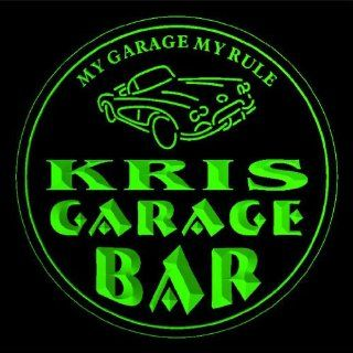 4x ccpp0645 g KRIS Garage Basement Bar Beer 3D Coasters: Kitchen & Dining