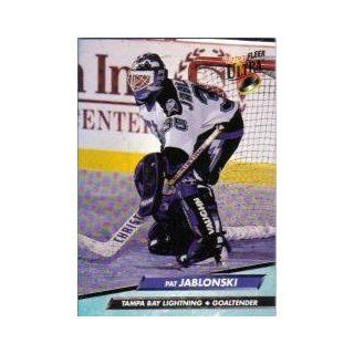 1992 93 Ultra #202 Pat Jablonski: Sports Collectibles