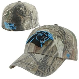 47 Brand Carolina Panthers Franchise Fitted Hat   Realtree Camo
