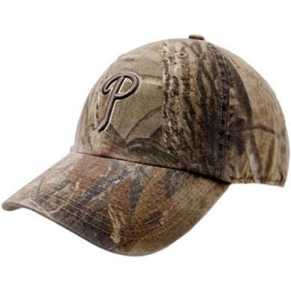 47 Brand Philadelphia Phillies Real Tree Camo Franchise Fitted Hat